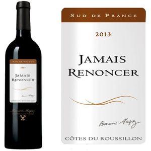 VIN ROUGE Jamais Renoncer 2013 Côtes du Roussillon - Vin rou