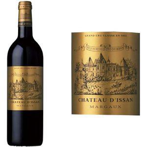 VIN ROUGE Château Issan Grand Vin de Bordeaux Margaux Cru Cl
