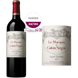 VIN ROUGE Marquis de Calon Ségur 2014 Saint-Estèphe - Vin ro