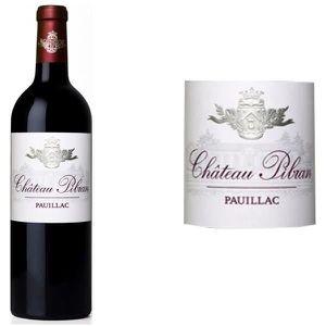 VIN ROUGE Château Pibran Grand Vin de Bordeaux Pauillac 2014