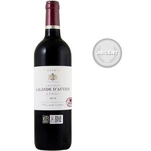 VIN ROUGE Château Lalande d'Auvion 2015 Médoc - Vin rouge de