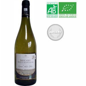 VIN BLANC Grand Melon Blanc 2017 Muscadet Sèvre et Maine Lie