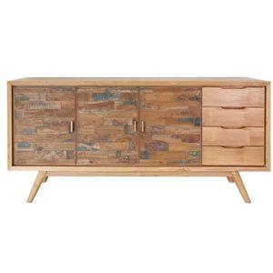 buffet bois achat vente pas cher cdiscount. Black Bedroom Furniture Sets. Home Design Ideas