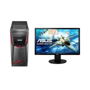 UNITÉ CENTRALE + ÉCRAN PC Gamer - ASUS G11DF-FR016D - Ryzen 5 - RAM 8Go -