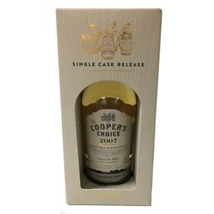 WHISKY BOURBON SCOTCH Laggan Mill Cooper's choice 2007  55°