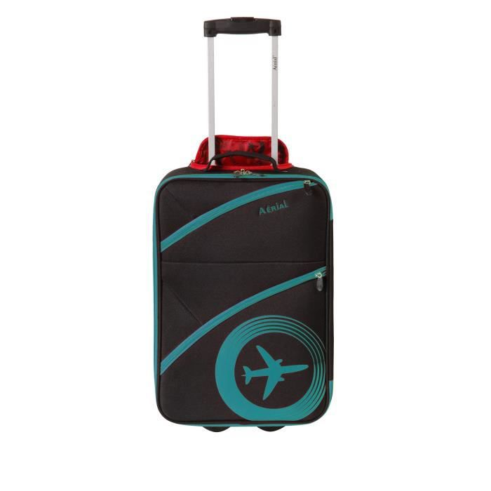VALISE - BAGAGE HORIZON Valise Cabine Souple 2 Roues 50cm AERIAL B
