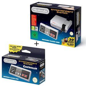 CONSOLE RÉTRO Pack Classic Mini NES + Manette