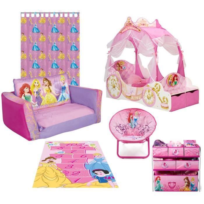 Disney Princesses Pack Mobilier Pour Chambre Complete Enfant Achat