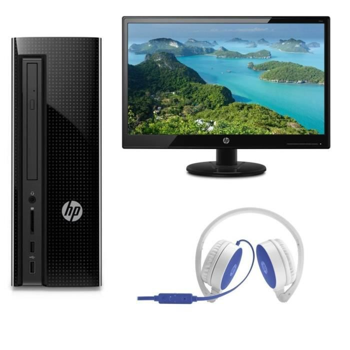 UNITÉ CENTRALE  HP PC de Bureau HP260p130nf - 4Go de RAM - Core i3