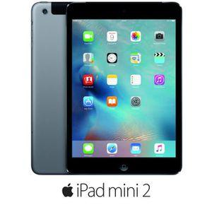 TABLETTE TACTILE Apple iPad Mini 2 Wi-Fi Cellular 32Go Gris Sidéral
