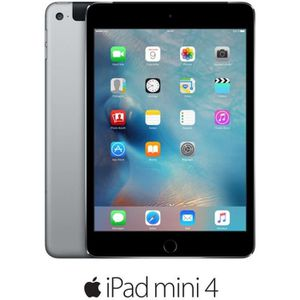 TABLETTE TACTILE Apple iPad mini 4 Cellulaire - MNWE2NF/A - 7,9