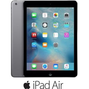 TABLETTE TACTILE iPad Air Wi-Fi Gris sidéral 16Go (MD785NF/B)