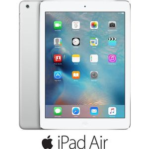 TABLETTE TACTILE iPad Air Wi-Fi Argent 16Go (MD788NF/B)