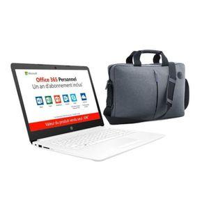 ORDINATEUR PORTABLE HP PC Portable 14''HD 14-cm0995nf - AMD A4-9125-RA