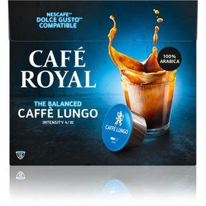 CAFÉ - CHICORÉE Café Royal Dolce Gusto Lungo Cap Compatibles DG