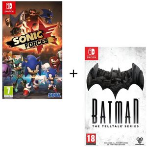 NINTENDO SWITCH Pack 2 jeux Switch : Batman : A Telltale Series +