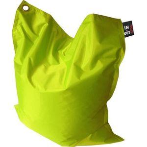POUF - POIRE Pouf géant imperméable JAVA - 110x130 cm - Vert an