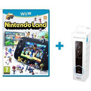 JEU WII U Nintendo Land Jeu Wii U + Télécommande Wii Plus