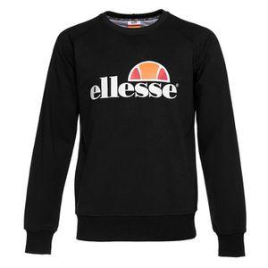 SWEATSHIRT ELLESSE Sweatshirt col rond - Homme - Noir