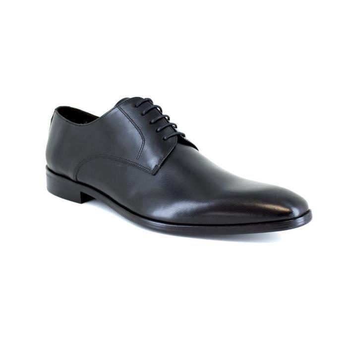 DERBY J.BRADFORD Chaussures Derby Jbtown en Cuir Noir Ho