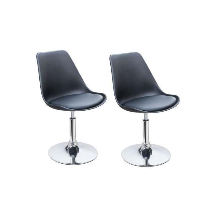 chaise pivotante salle a manger achat vente chaise pivotante salle a manger pas cher. Black Bedroom Furniture Sets. Home Design Ideas