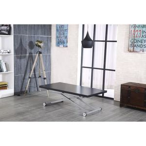 Table extensible achat vente table extensible pas cher cdiscount - Table basse manger transformable ...