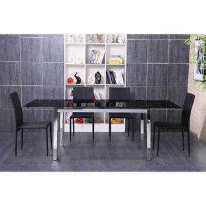 TABLE À MANGER SEULE MAX Table à manger extensible de 6 à 10 personnes