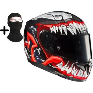 CASQUE MOTO SCOOTER HJC Casque moto intégral- Rpha11 Venom II + cagoul
