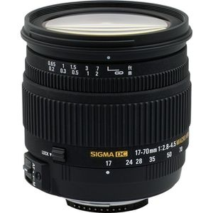 OBJECTIF Sigma 17-70mm F2,8-4 DC OS Macro pour Canon