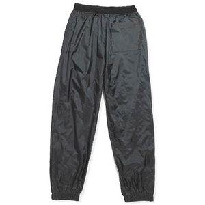VETEMENT BAS Pantalon de Pluie en Nylon Noir