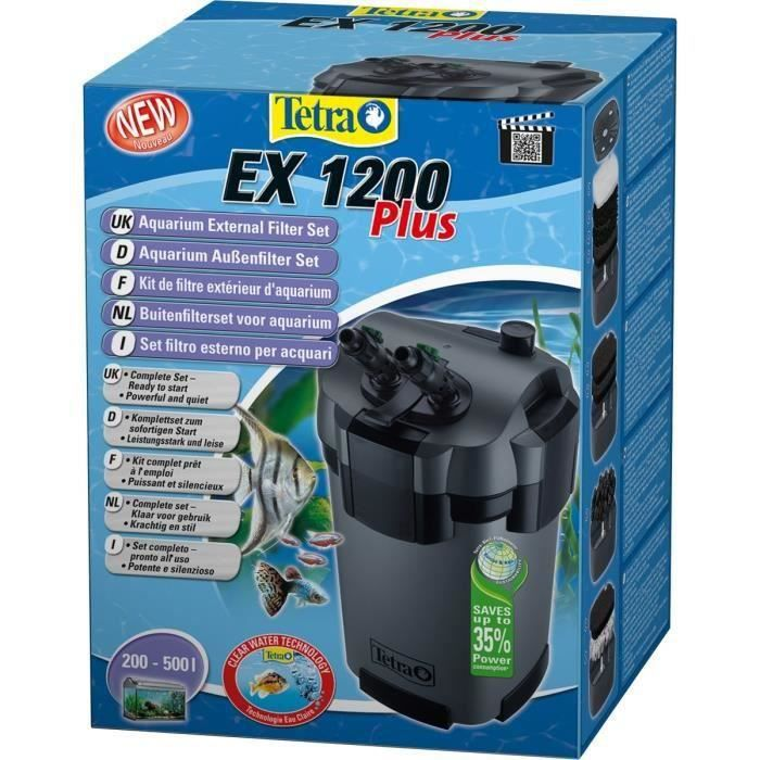Tetra Filtre Extérieur Ex 1200 Plus Pour Aquarium
