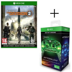 JEU XBOX ONE The Division 2 Jeu Xbox One  + Manette filaire PDP