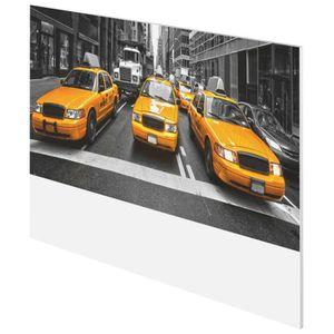 TÊTE DE LIT NY TAXI Tête de lit style contemporain imprimé tax