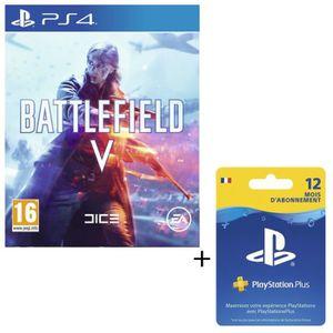 PACK ACCESSOIRE Pack Battlefield V Jeu PS4 + Abonnement Playstatio