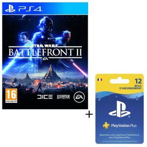 PACK ACCESSOIRE Pack Star Wars Battlefront 2 + Abonnement PlayStat