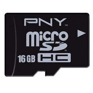 CARTE MÉMOIRE PNY MicroSD 16 Go