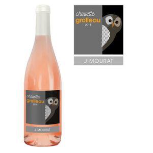 VIN ROSÉ J. Mourat Chouette 2018 Grolleau - Vin rosé du Val