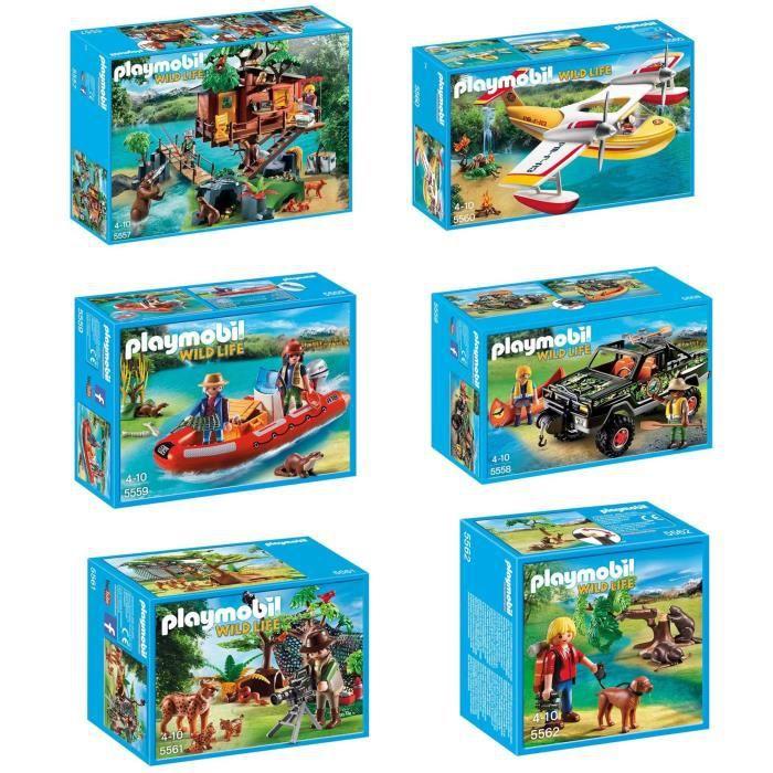 Complet Achat Véhicule Playmobil Aventuriers Les Vente Pack USzMVqGp