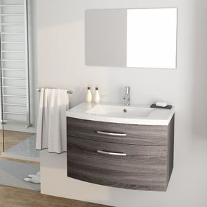 Meuble salle de bain 80 cm achat vente pas cher - Meuble bas salle de bain pas cher ...