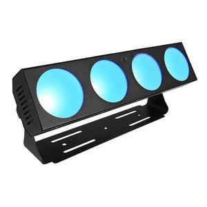 LAMPE ET SPOT DE SCÈNE AFX BARCOB4 Barre avec 4 projecteurs à LED Cob RGB