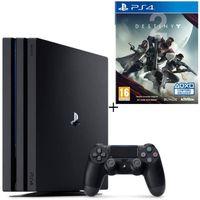 Pack PS4 Pro Noire 1 To + Destiny 2