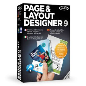 BUREAUTIQUE MAGIX Page & Layout Designer 9