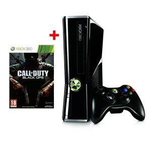 CONSOLE XBOX 360 Xbox 360 250 Go + CALL OF DUTY BLACK OPS