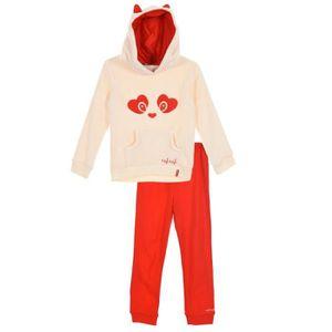 PYJAMA NAF NAF Pyjama 2 Pièces Écru Enfant Fille