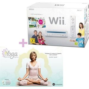 CONSOLE WII PACK Wii FAMILY EDITION + BALANCE BOARD + WII YOGA