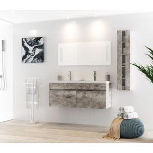Double vasque achat vente double vasque pas cher for Meuble salle de bain 80 cm pas cher