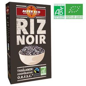 CÉRÉALES - MÉLANGES ALTER ECO Riz Noir Bio 500g