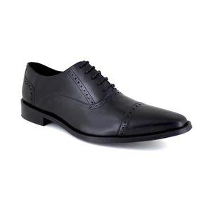 RICHELIEU J.BRADFORD JB-GLUM Noir Chaussure Homme