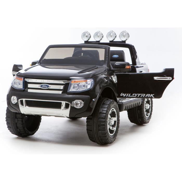 ford ranger voiture electrique pour enfant 12v noir achat vente voiture enfant cdiscount. Black Bedroom Furniture Sets. Home Design Ideas