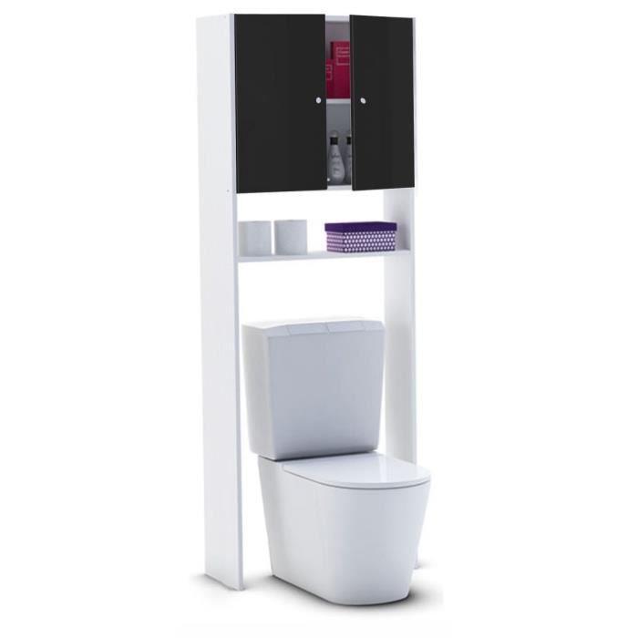 Rangement wc achat vente rangement wc pas cher cdiscount for Meuble sanitaire wc
